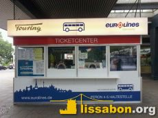 Eurolines & Touring Kiosk am Messedamm 9 in Berlin