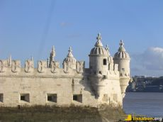Der Torre de Belém - Details der Schutzanlage