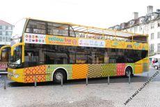 Yellow Bus Rundfahrten gehört zum Unternehmen der Carris-Gruppe, die auch öffentliche Busse, Straßenbahnen und Aufzüge in Lissabon betreibt