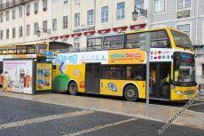 Alle Bustouren beginnen an der zentralen Haltestelle Praça da Figeira