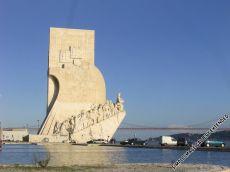 Denkmal der Entdeckungen unweit des Torre de Belém im Stadtteil Belém westlich de Innenstadt