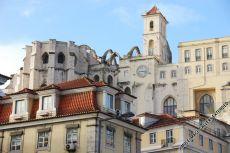 Die Igreja do Carmo wurde beim großen Erdbeben 1755 zerstört