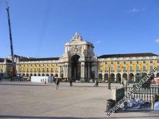Die Pousada de Lisboa befindet sich am Praça de Comercio